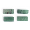 Green Aventurine 4X11mm Rectangular Tube Semi-Precious